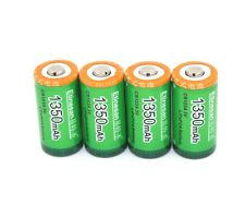 4 X Etnesan Good 1350mAh CR123 3V Lithium rechargeable Battery DL123A/CR17345