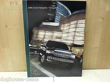 08, 2008 Lincoln Navigator / Navigator L Unused Lincoln Dealer Brochure