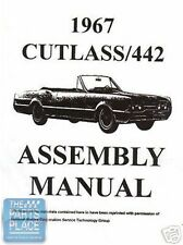 1967 Oldsmobile Cutlass Assembly Manual