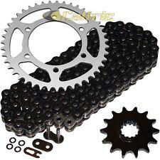 Black O-Ring Drive Chain & Sprockets Fits KAWASAKI EX250J Ninja 250R 2008-2012