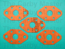 5 x Intake Manifold Gaskets Fits WYL Walbro Carburetors, Echo Trimmers and more