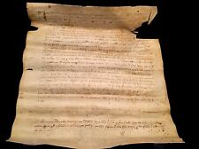MEDIEVAL DOCUMENT 1325