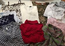 Lot of Women's Clothing, size XL & 14, Shirts, Dresses, Skirt, Sweater, ++ - F1