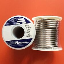 1 Lb Roll - (16 oz) AMERWAY quality 60/40 (tin/lead) Solder for stained glass