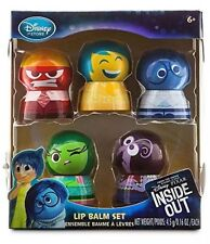 NEW Disney Store Pixar Inside Out Movie Exclusive Lip Balm Set