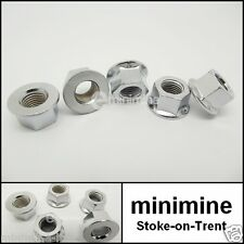 Classic Mini Chrome Cylinder Head Flange Nut Kit 5pc CAM4545 INC FREE POSTAGE!