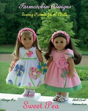 NEW! SEWING PATTERN for  American Girl Doll  by Farmcookies Designs
