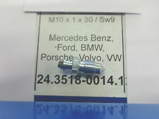 24351800141 VITE SPURGO FRENI M10 X 1 X 30 SW9  bleeding screw MERCEDES BMW VW Z