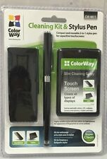 Color Way Cleaning Kit & Stylus Pen CW-4811 with 2 Years Manufacturer Warranty