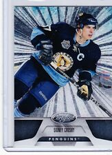 11-12 2011-12 CERTIFIED SIDNEY CROSBY TOTALLY SILVER PARALLEL 70 PENGUINS