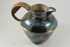 Vintage L.B.S. Co. LAWRENCE B. SMITH Nickel Silver Creamer Pitcher