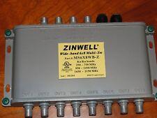 Zinwell 6X8 Multi-Switch MS6X8WB-Z ; Used