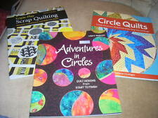Quilt Books Lot of 3 Triple Play Scrap Quilting, Adventures in Circles NEW