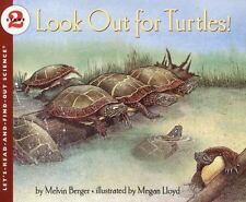 Look Out for Turtles! (Let's-Read-and-Find-Out Science 2)-ExLibrary