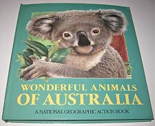 1990 Wonderful Animals Of Australia, A National Geographic Action Book - Pop Up
