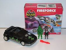 M.A.S.K - FIREFORCE w/ JULIO LOPEZ & CLONE 100% COMPLETE MIB - KENNER