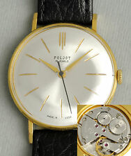 POLJOT klassische elegante grosse soviet Uhr USSR vintage gold-filled suit watch