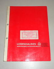 Betriebsanleitung / Teilekatalog Losenhausen Viebromax Rüttler AV 3000