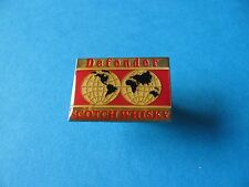 """ DEFENDER "" Scotch Whisky Pin Badge. Whiskey. Enamel."