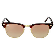 Ray Ban CLUBMASTER Copper Gradient Flash Sunglasses RB3016-990/7O-49