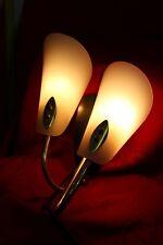 50s Midcentury Rockabilly Style Wandlampe Wallampe neu verkabelt ! 160925
