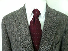 Ralph Lauren men sport coat blazer tweed Polo brown color 2 button wool size 44R