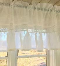 100 baumwolle bistro scheibengardinen f r wohnzimmer ebay. Black Bedroom Furniture Sets. Home Design Ideas
