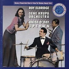"Roy Eldridge with the Gene Krupa Orchestra Featuring Anita O'Day ""Uptown"" (CD)"