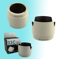 White Tulip Flower Lens Hood Shade for Canon 70-200mm f/4L USM IS USM JJC ET-74