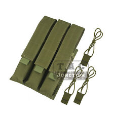 Emerson Tactical MOLLE / PALS Triple SMG Magazine Mag Pouch Holder Bag Carrier