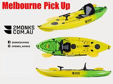 Fishing Kayak Canoe Single Sit-On 3M 5 Rod Holders Seat Paddle Melbourne