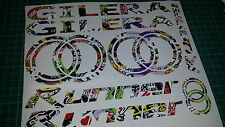 Gilera Runner Decals/Stickers EXCLUSIVE Sticker Bomb DESIGN sp vx fx vxr 125 172