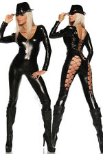 LINGERIE CATSUIT CATWOMAN Party Fancy Dress Catsuit Jump suit Bandage dress 7039