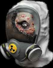 BRAND NEW Undead Crazies Biohazard Gas Mask DELUXE ADULT LATEX TOXIC ZOMBIE MASK