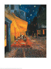 """Cafe Terrace at Night"" by Vincent van Gogh - Fine Art Print  30 x 24"