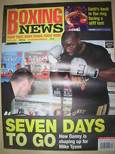 BOXING NEWS 23 JULY 2004 DANNY WILLIAMS PREPARES FOR MIKE TYSON FIGHT
