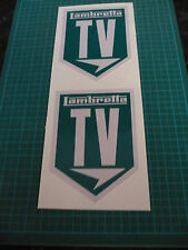 Lambretta TV Scooter stickers