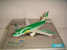 "Herpa Wings 500 Mekong Airlines B737-500 ""2003s color"" 1:500 NG CLUB MODEL"