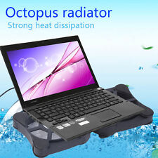 Mini USB Port Cooling Pad With 2 Fans Cooler for 7-15 Notebook Laptop LJ