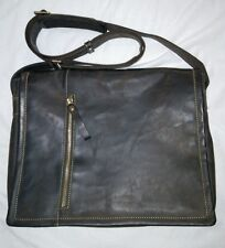 Visconti leather messanger bag