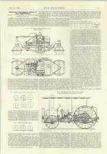 1914 Light Military Tractor 7 Foot Driving Wheel Road Construction