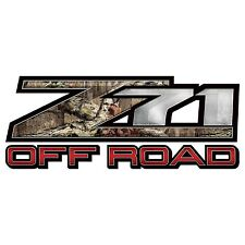 "Mossy Oak Graphics (13033-BI-L) 16.5"" x 6.75"" Break-Up Infinity Z71 Style Decal"
