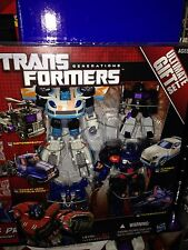 TRANSFORMERS ULTIMATE GIFT SET OPTIMUS PRIME THUNDERCRACKER JAZZ MOTORBREATH New