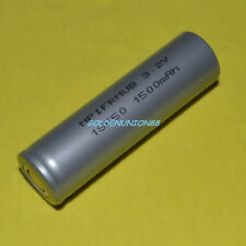 LiFePO4 IFR18650 3.2V 1500mAh rechargeable battery for high temp emergency