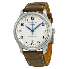 Longines Master Collection Automatic Silver Dial Stainless Steel Mens Watch