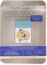 "WALT DISNEY TREASURES ""Donald Volume One"" ltd sealed Tin Box Donald Duck"