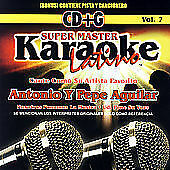 NEW - Karaoke Latino, Vol. 7: Antonio y Pepe Aguilar