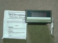 RKC REX DP410 DIGITAL INDICATOR