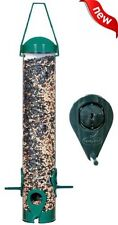 NEW Garden Song Squirrel Proof Wild Bird Feeder Hanging Seed Outdoor Wildlife