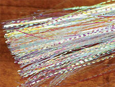 HEDRON MIRAGE LATERAL SCALE - 1/69 Opal mylar fly tying